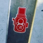 Sticker art in Dogpatch