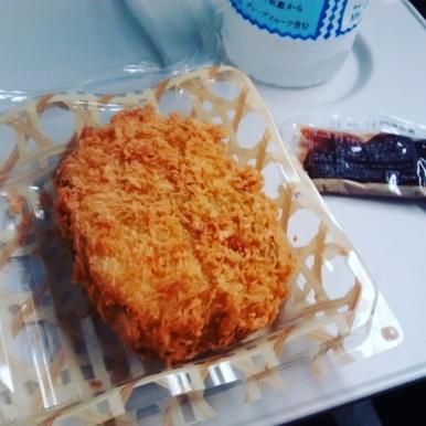 Train Meal pt 1: Edamame Croquet