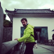 Jason at Nijo Castle