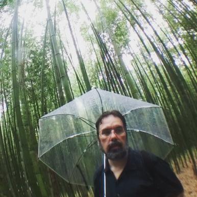 Fisheye Jason in the Bamboo Grove