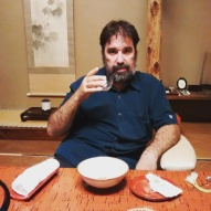 Welcome tea at Hiiragiya