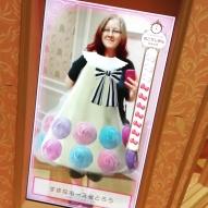 Hello Kitty's dress