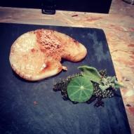 Scallop and sea veggies